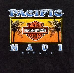 UNISEX•2X• Harley Davidson Pacific Maui tee